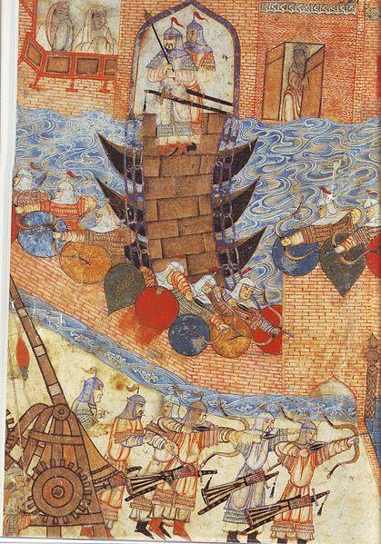 Армия Хулагу хана атакует Багдад