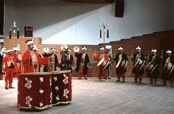 Группа Османского мехтера